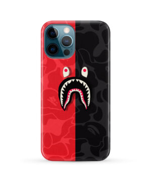 Bape Shark Camo for Beautiful iPhone 12 Pro Max Case Cover