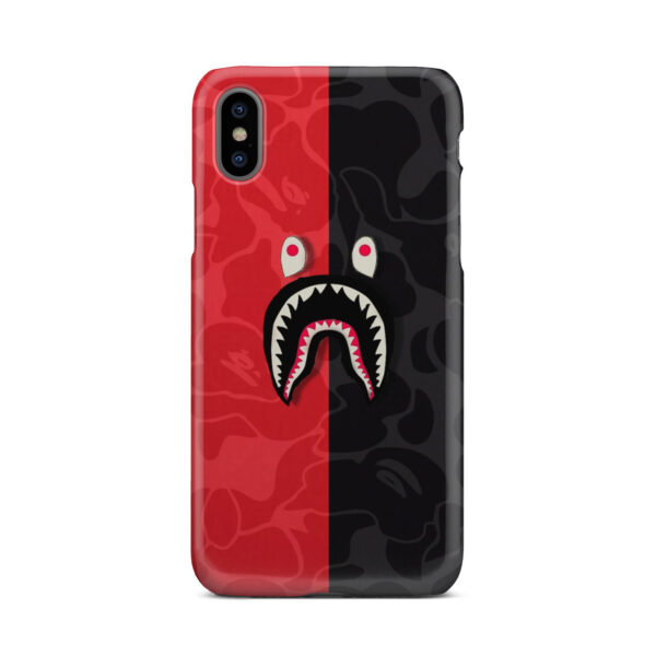 Bape Shark Camo for Beautiful iPhone X / XS Case