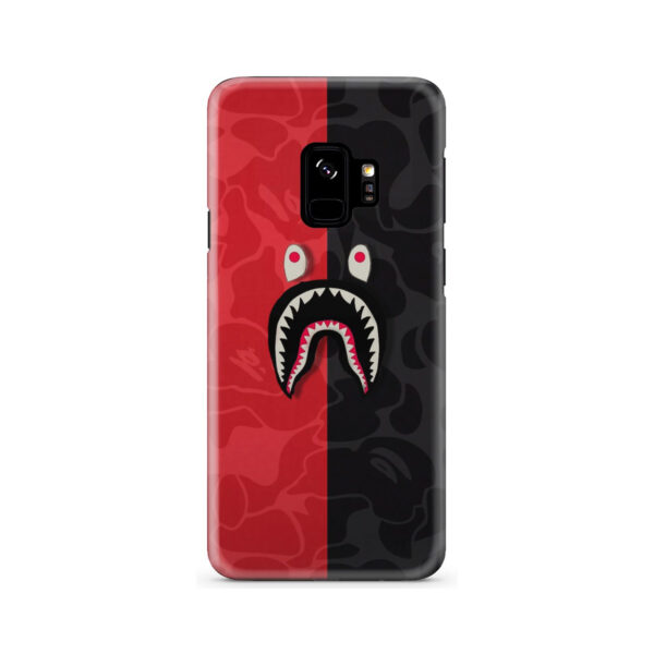Bape Shark Camo for Cute Samsung Galaxy S9 Case Cover