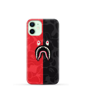 Bape Shark Camo for Newest iPhone 12 Mini Case