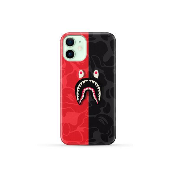 Bape Shark Camo for Newest iPhone 12 Mini Case
