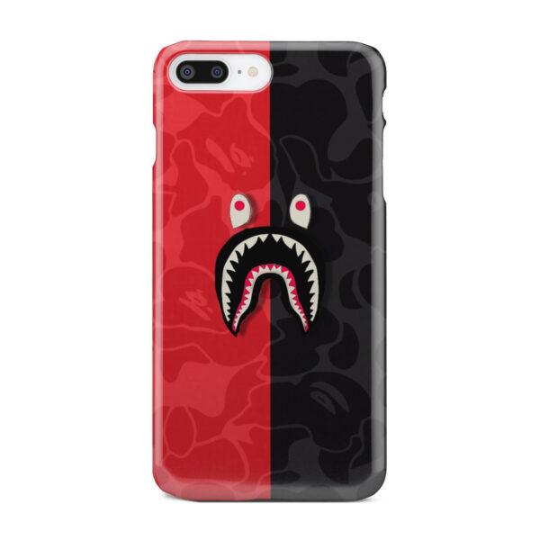 Bape Shark Camo for Nice iPhone 7 Plus Case