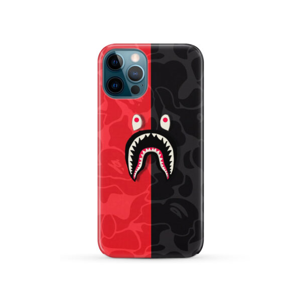 Bape Shark Camo for Personalised iPhone 12 Pro Case Cover