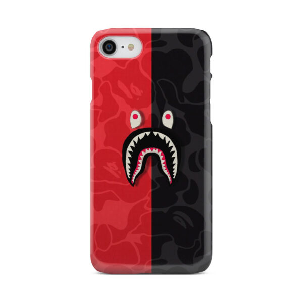 Bape Shark Camo for Personalised iPhone 8 Case