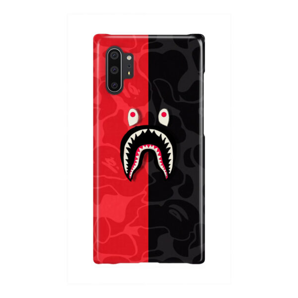 Bape Shark Camo for Personalised Samsung Galaxy Note 10 Plus Case Cover