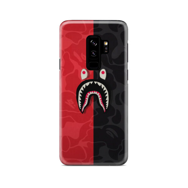 Bape Shark Camo for Personalised Samsung Galaxy S9 Plus Case
