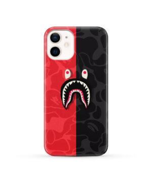 Bape Shark Camo for Simple iPhone 12 Case Cover