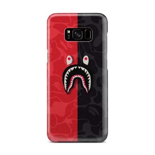 Bape Shark Camo for Simple Samsung Galaxy S8 Plus Case