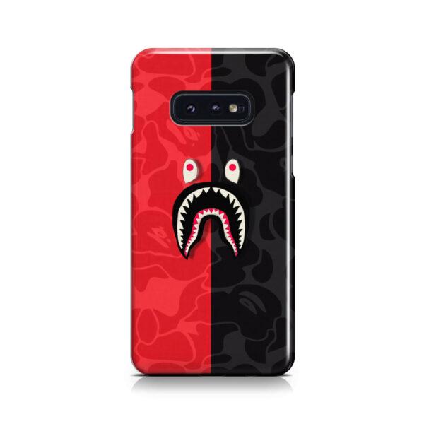 Bape Shark Camo for Stylish Samsung Galaxy S10e Case