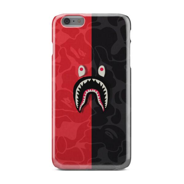 Bape Shark Camo for Unique iPhone 6 Plus Case