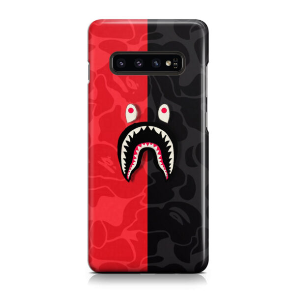 Bape Shark Camo for Unique Samsung Galaxy S10 Plus Case