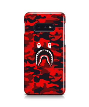 Bape Shark Red Camo for Newest Samsung Galaxy S10e Case Cover