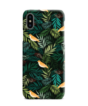 Beautiful Bird Leaf Nature for Amazing iPhone XS Max Case