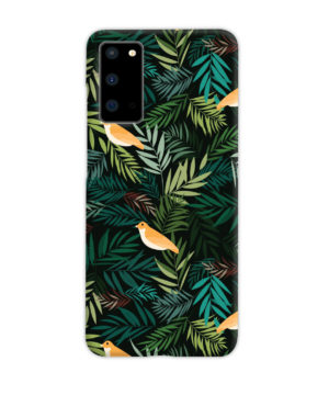 Beautiful Bird Leaf Nature for Amazing Samsung Galaxy S20 Case Cover