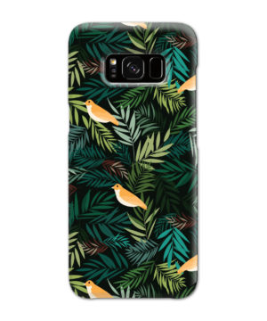 Beautiful Bird Leaf Nature for Cool Samsung Galaxy S8 Case Cover