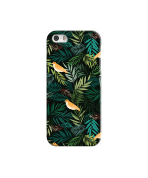 Beautiful Bird Leaf Nature for Custom iPhone 5 Case Cover
