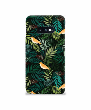 Beautiful Bird Leaf Nature for Newest Samsung Galaxy S10e Case
