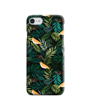 Beautiful Bird Leaf Nature for Nice iPhone 8 Case