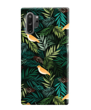 Beautiful Bird Leaf Nature for Nice Samsung Galaxy Note 10 Plus Case Cover