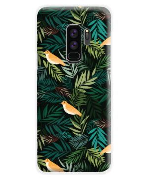 Beautiful Bird Leaf Nature for Nice Samsung Galaxy S9 Plus Case