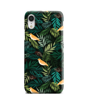 Beautiful Bird Leaf Nature for Personalised iPhone XR Case Cover