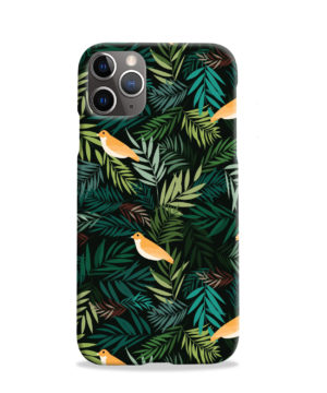 Beautiful Bird Leaf Nature for Simple iPhone 11 Pro Case