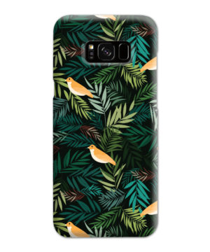 Beautiful Bird Leaf Nature for Trendy Samsung Galaxy S8 Plus Case