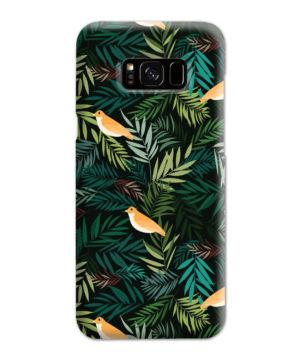 Beautiful Bird Leaf Nature for Trendy Samsung Galaxy S8 Plus Case