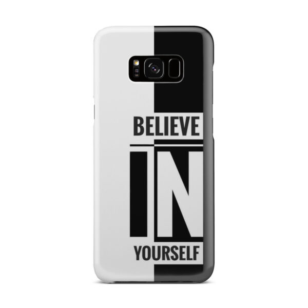 Believe In Yourself Motivational Quotes for Amazing Samsung Galaxy S8 Plus Case Cover