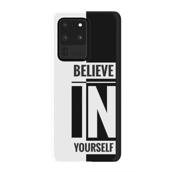 Believe In Yourself Motivational Quotes for Cute Samsung Galaxy S20 Ultra Case