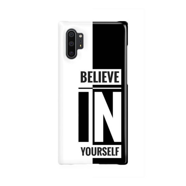 Believe In Yourself Motivational Quotes for Newest Samsung Galaxy Note 10 Plus Case