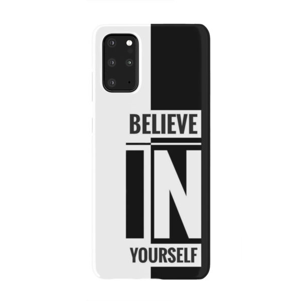 Believe In Yourself Motivational Quotes for Newest Samsung Galaxy S20 Plus Case