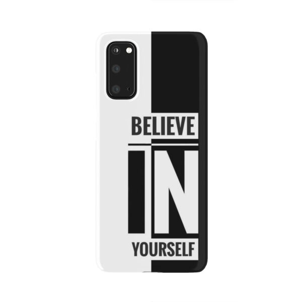 Believe In Yourself Motivational Quotes for Nice Samsung Galaxy S20 Case Cover