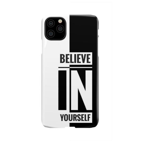Believe In Yourself Motivational Quotes for Personalised iPhone 11 Pro Max Case