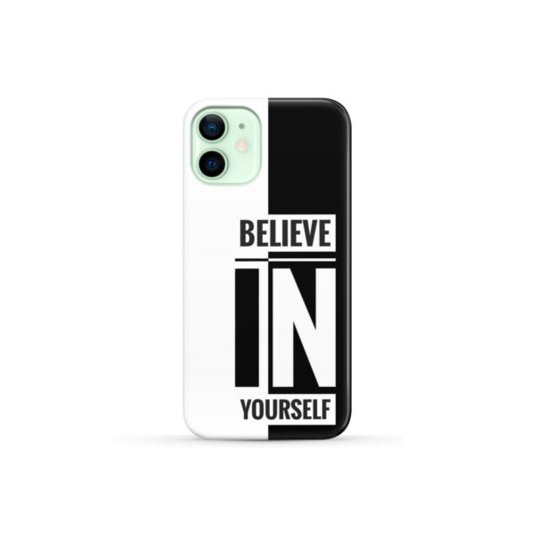 Believe In Yourself Motivational Quotes for Premium iPhone 12 Mini Case