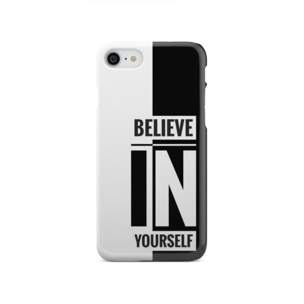 Believe In Yourself Motivational Quotes for Premium iPhone SE 2020 Case Cover