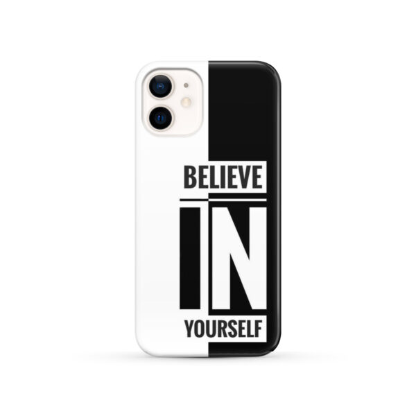 Believe In Yourself Motivational Quotes for Stylish iPhone 12 Case Cover