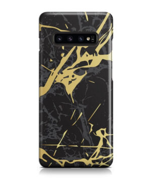 Black and Gold Marble for Beautiful Samsung Galaxy S10 Case Cover