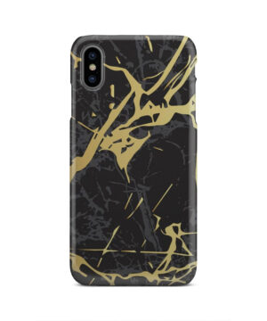Black and Gold Marble for Best iPhone XS Max Case Cover