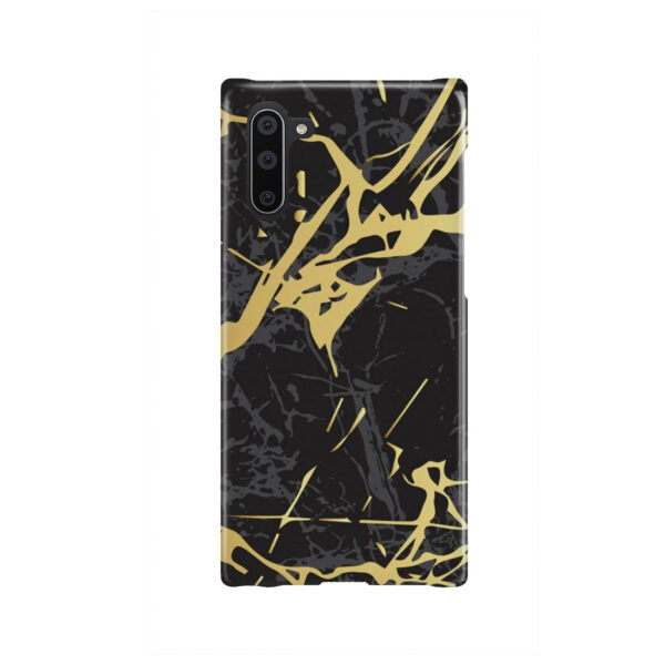 Black and Gold Marble for Cool Samsung Galaxy Note 10 Case Cover