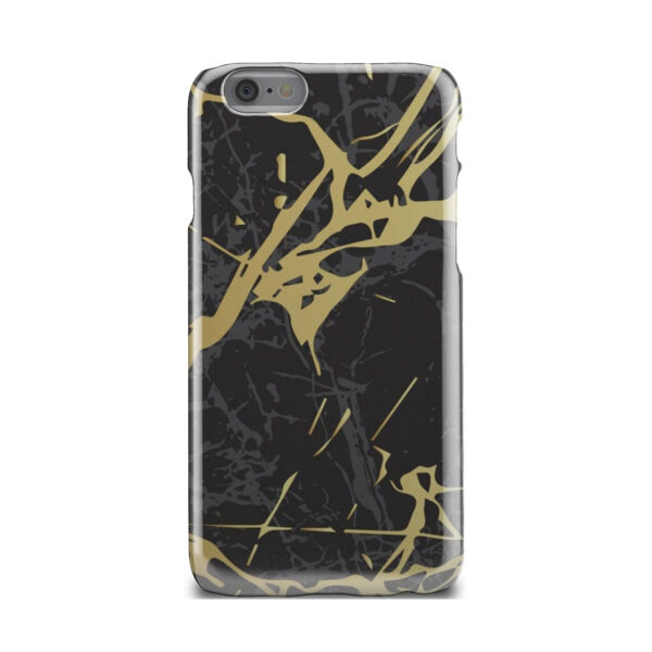 Black and Gold Marble for Customized iPhone 6 Case Cover
