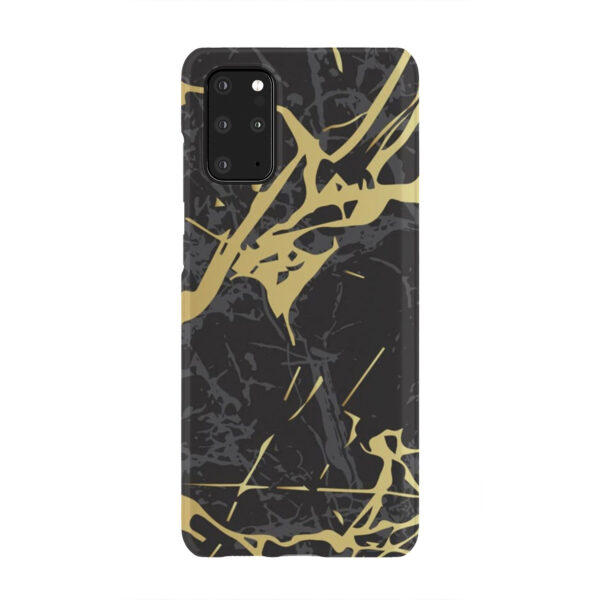 Black and Gold Marble for Cute Samsung Galaxy S20 Plus Case Cover
