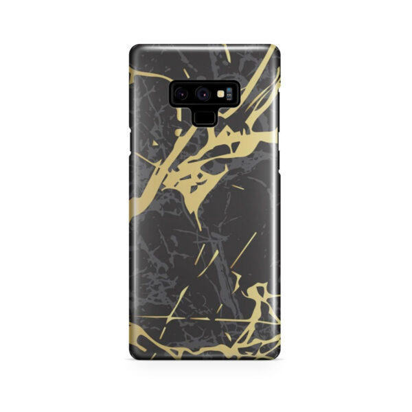 Black and Gold Marble for Newest Samsung Galaxy Note 9 Case
