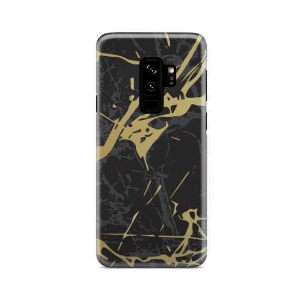 Black and Gold Marble for Simple Samsung Galaxy S9 Plus Case Cover