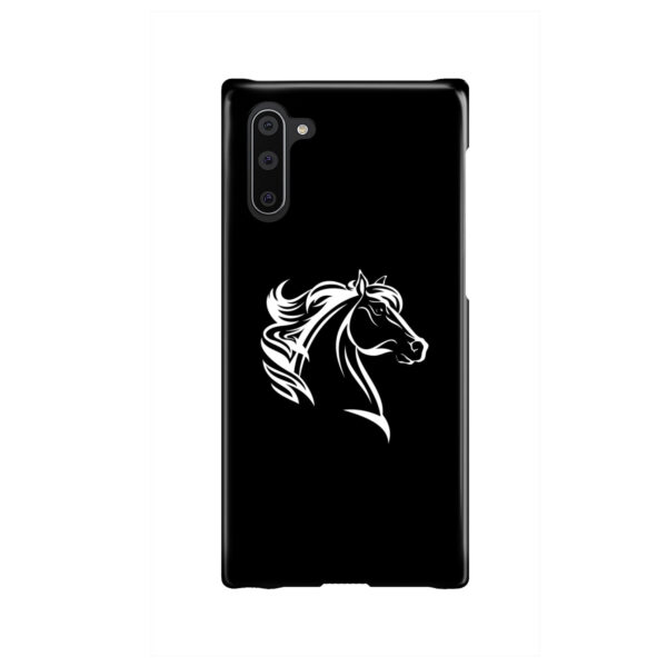 Black and White Horse Mane for Nice Samsung Galaxy Note 10 Case Cover