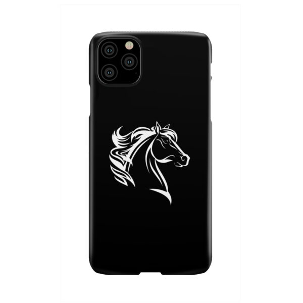 Black and White Horse Mane for Unique iPhone 11 Pro Max Case Cover