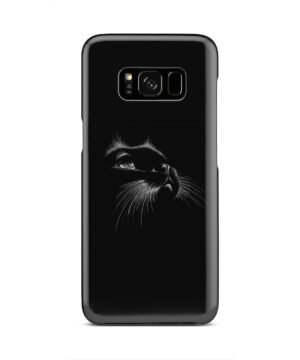 Black Cat for Amazing Samsung Galaxy S8 Case Cover