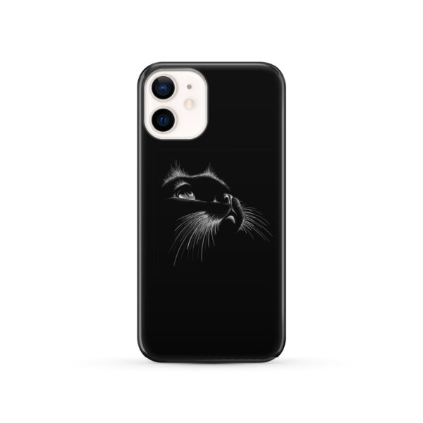 Black Cat for Beautiful iPhone 12 Case