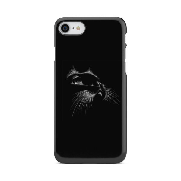 Black Cat for Beautiful iPhone 7 Case