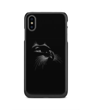 Black Cat for Beautiful iPhone XS Max Case Cover